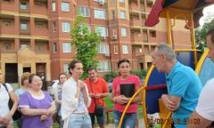 Елена Мокринская приняла участие в собрании собственников многоквартирных домов в Щёлково-3 (20.06.2016)