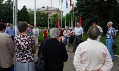 Встреча с жителями в Краснозаводске (27.06.2016)