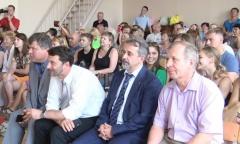 Олег Емельянов поздравил выпускников Бронницкого филиала МАДИ (05.07.2016)