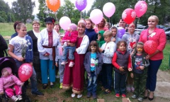 День семьи, любви и верности отметили в Загорянском (08.07.2016)