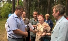 Сохранить лес в Красково! (12.07.2016)