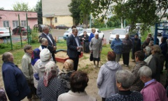 Александр Наумов встретился с жителями Чеховского района (08.07.2016)