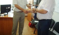 Константин Черемисов получил удостоверение кандидата в депутаты (25.07.2016)