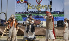 Алексей Русских принял участие в фестивале «Царская уха» (30.07.2016)
