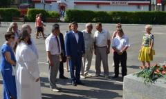 Михаил Авдеев поздравил жителей Талдома с днем города (06.06.2016)
