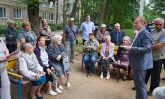 Встреча с жителями Сергиево-Посадского района (09.08.2016)