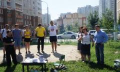 Соревнования по воркауту прошли в Подольске (09.08.2016)