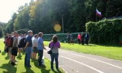 Алексей Русских посетил праздник спорта в Волоколамске (13.08.2016)