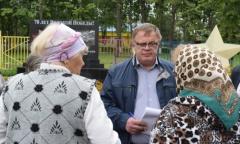 Александр Наумов встретился с жителями городского округа Кашира в Богатищево (16.08.2016)