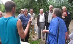 Сход жителей в Малаховке (14.08.2016)