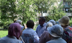 Кандидаты в депутаты Московской областной Думы от КПРФ встретились с жителями Ступино (18.08.2016)