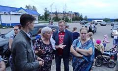 Сход жителей в Реммаше (19.08.2016)