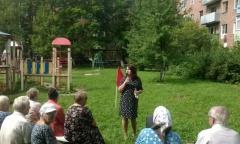 Ирина Тютькова и Александр Наумов встретились с жителями Ступино (23.08.2016)