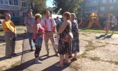Виталий Федоров провел ряд встреч в Луховицком районе (27.08.2016)