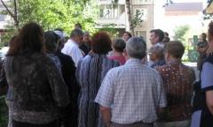 Встреча активистов КПРФ с жителями Люберец (28.08.2016)