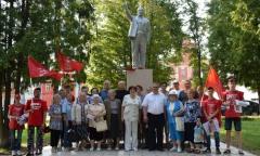 Александр Наумов провел встречи с избирателями в Озёрах (29.08.2016)
