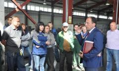 Виталий Федоров посетил Зарайский район (03.09.2016)