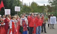 Митинг в Егорьевске (04.09.2016)