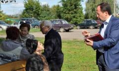 Виталий Фёдоров и Алексей Соколов посетили Серебряные Пруды (10.09.2016)