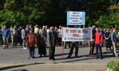 Митинг в защиту российской науки в Пущино (12.09.2016)
