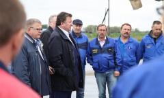Рабочий визит Владимира Кашина в Озеры, Каширу и Ступино (14.09.2016)