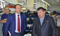 Виталий Фeдоров и Алексей Соколов провели встречи с трудовыми коллективами Зарайского района (16.09.2016)