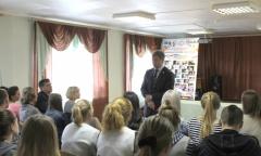 Алексей Русских посетил городской округ Шаховская (15.09.2016)