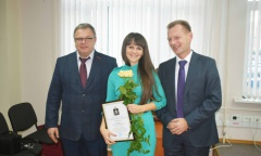 Александр Наумов поздравил с профессиональным праздником сотрудников налоговой службы в Ступино (21.11.2016)