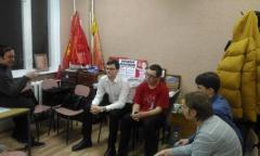 Заседание марксистского кружка в Сергиевом Посаде (01.12.2016)