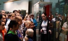 Экскурсия подольских пионеров в Государственный музей маршала Советского Союза Г.К. Жукова (06.12.2016)