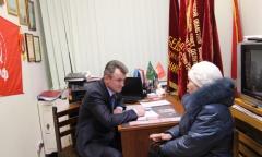 Василий Мельников провел встречу с жителями Пушкино (16.12.2016)