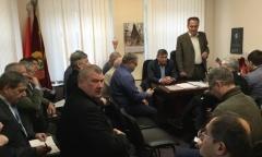 Московское областное отделение КПРФ провело совещание первых секретарей областных парторганизаций (04.02.2017)