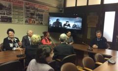Ветераны гражданской авиации посетили Фракцию КПРФ в Госдуме (14.02.2017)