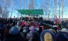 Подольские коммунисты и комсомольцы почтили память погибших красноармейцев (31.10.2015)