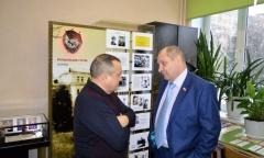 Ветераны войны, труда и военной службы посетили школьный музей Воинской славы (22.02.2017)