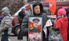 Подмосковные коммунисты почтили память И.В. Сталина (05.03.2017)