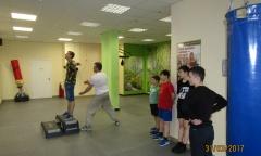 Спортивные занятия в Люберцах (31.03.2017)
