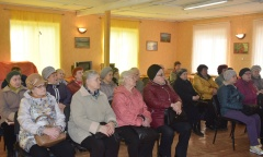 В городе Ступино состоялась встреча депутата-коммуниста Александра Наумова с «детьми войны» (07.04.2017)