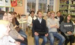 Подольские коммунисты приняли участие во всероссийской акции «Библионочь-2017» (21.04.2017)