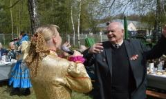 Фронтовой привал в Юбилейном (09.05.2017)