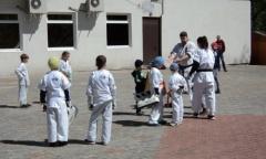 Открытое занятие по Каратэ в Центральном ПКиО города Люберцы (14.05.2017)