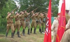Памятный знак танкистам 20-ой танковой бригады открыт в Одинцовском районе (22.06.2017)