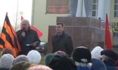 Митинг в Люберцах (07.11.2015)
