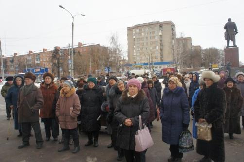 Митинг в Климовске (14.02.2015)