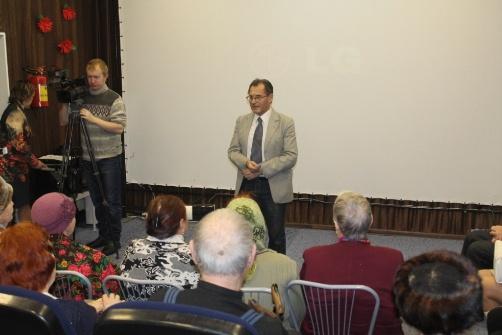 Торжественное открытие клуба-кинолектория в Можайске (25.02.2015)