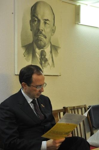 В.В. Федоров провел прием населения г.о. Дубна (25.02.2015)