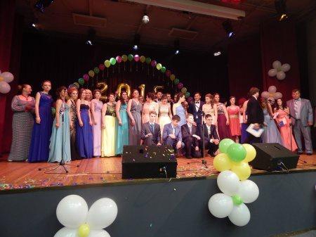 Олег Емельянов поздравил выпускников (27.06.2015)