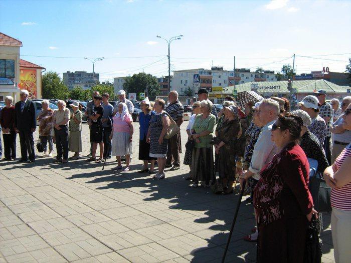 Митинг в Можайске (22.08.2015)
