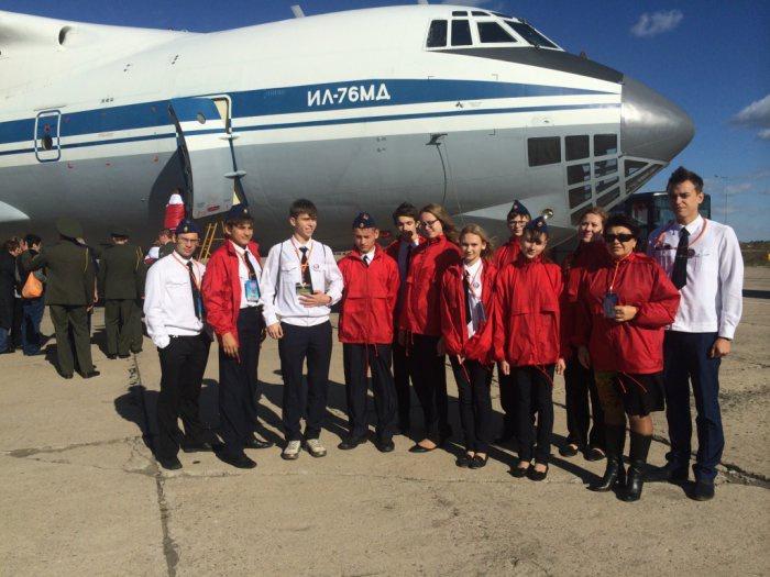 Щелковский район: Слёт юных спасателей космонавтов (26.10.2015)