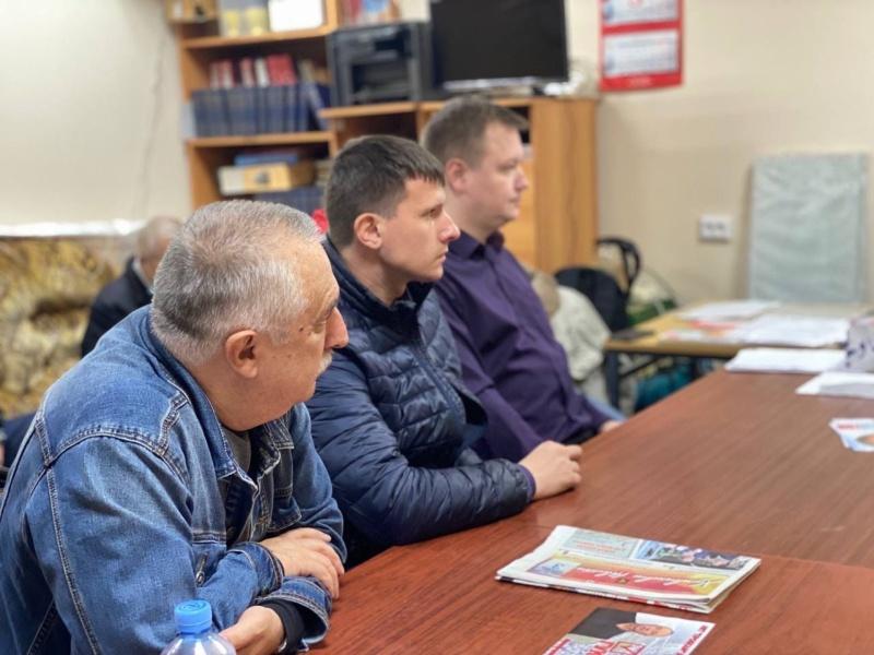Александр Корнев встретился с активом Химкинского городского отделения партии КПРФ (12.09.2021)